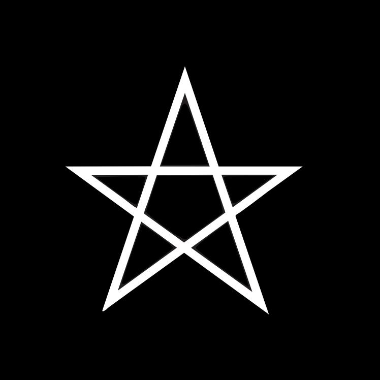 Freimaurer Symbole: Das Pentagramm - eigentlich kein okkultes Symbol, sondern auch an Kirchen zu finden. In der Freimaurerei symbolisiert es einen fünffach gebrochenen Lichtstrahl, dessen Anfang zu seinem Ende zurückkehrt