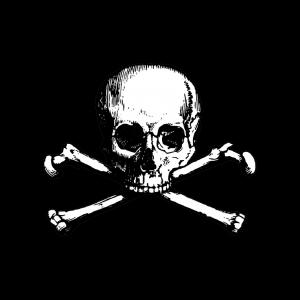 Freimaurer Symbole: Der Totenkopf - u. a. freimaurerisches Symbol für Vergänglichkeit und die stete Mahnung, seine Lebenszeit weise einzuteilen