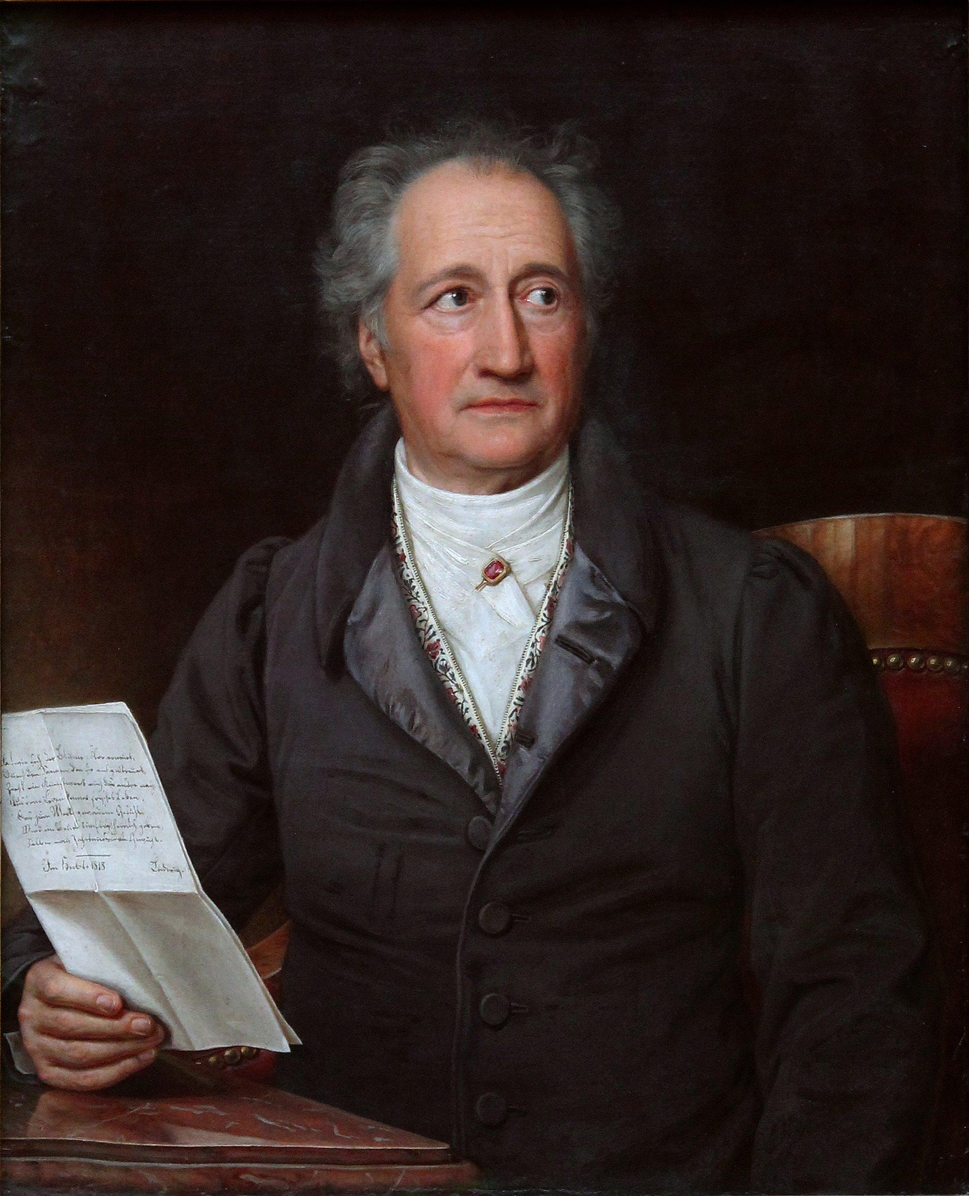 Berühmte Freimaurer: Goethe
