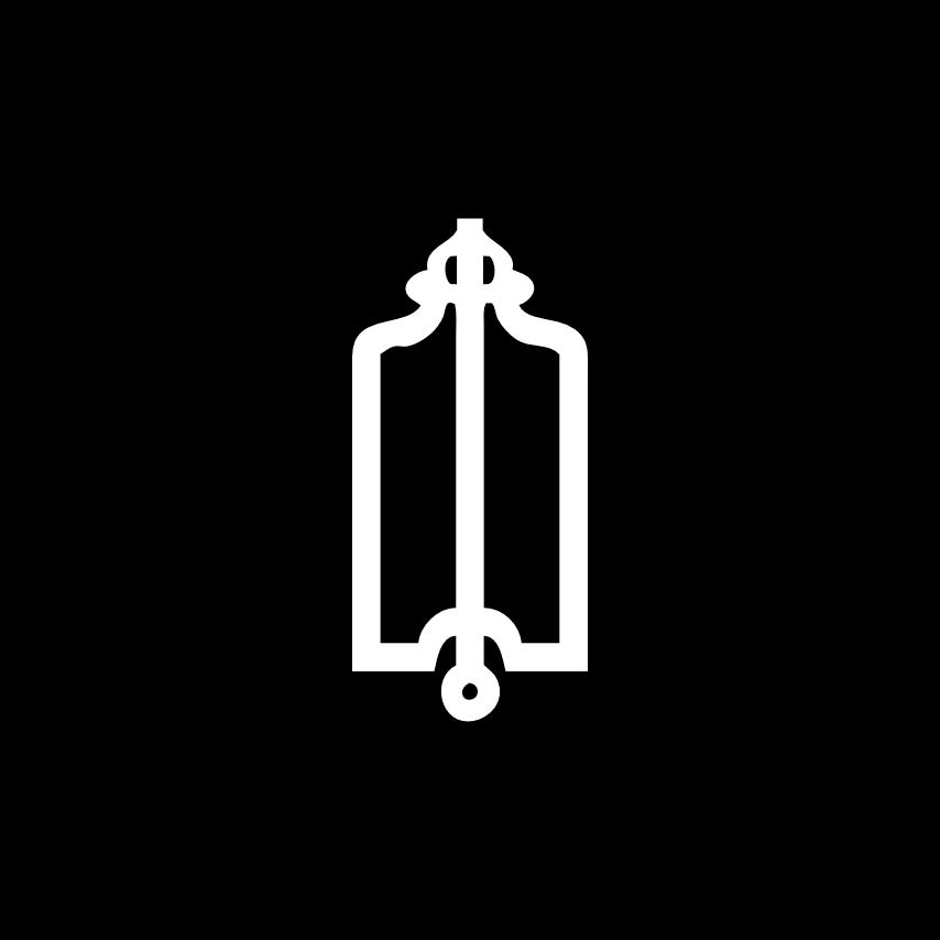 Freimaurer Symbole: Das Senkblei – u. a. das Freimaurer-Symbol für das Gewissen; die Brüder sollen mit dem Senkblei symbolisch die Tiefe ihres Herzens ausloten