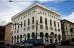 Das ursprüngliche Logenhaus der Freimaurer in San Francisco
