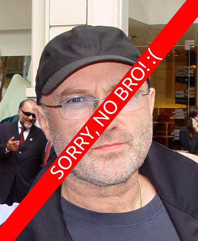 Berühmter Freimaurer? Phil Collins ist vermutlich keiner!