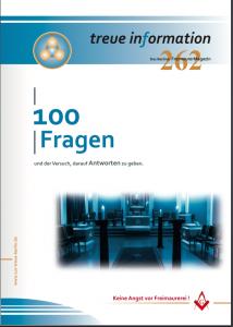 100 Fragen zur Freimaurerei