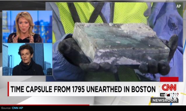 Bostoner Freimaurer-Zeitkapsel von 1795