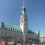 Freimaurer Führung: Rathaus Hamburg, CC Daniel Schwen über Wikimedia Commons
