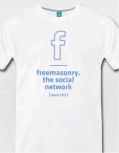 T-Shirt: Freemasonry – social network
