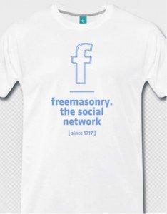 T-Shirt: Freemasonry – social network