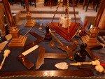 Freimaurer Logenhaus Sligo, Irland, Werkzeuge