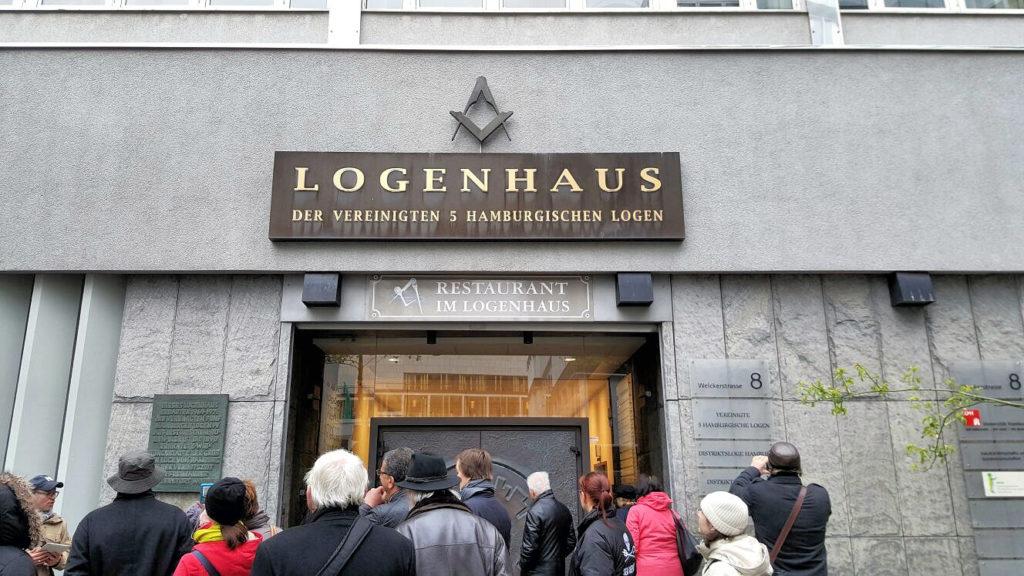 Freimaurer Stadtführung Hamburg, Logenhaus Welcker Straße (c) G. Becker, www.kult-kieztouren.de