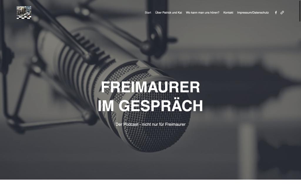 Freimaurer im Gespräch Podcast