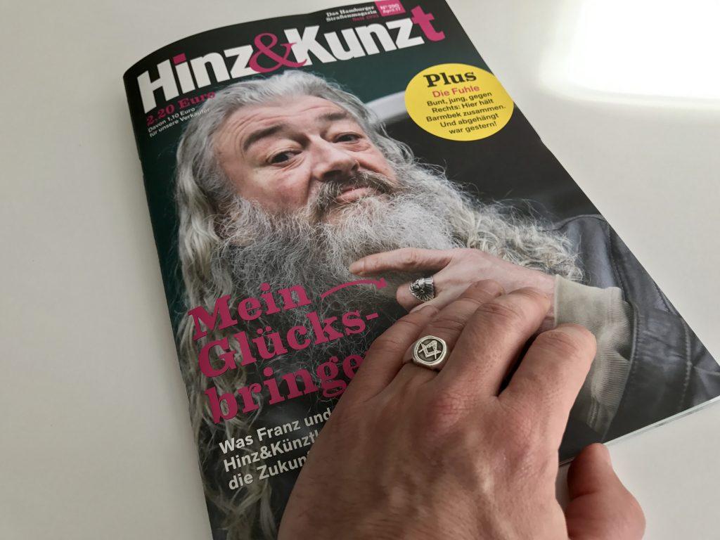 Hinz&Kunzt Cover